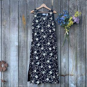 Villager Petite Black Dress Liz Claiborne Size L